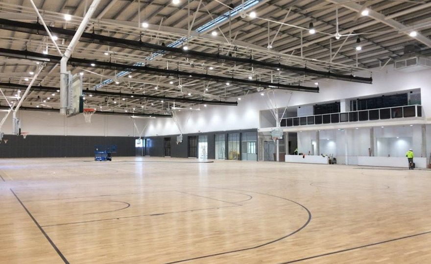 HBF Arena inside new basketball stadium 2
